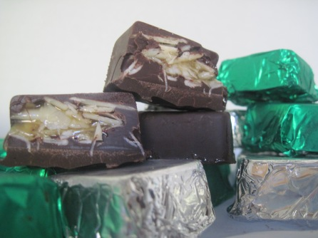 Coconut Almond Delites, a vegan version of Almond Joy