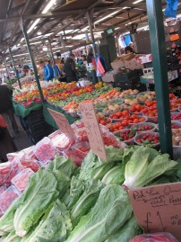 Farmer's market, Birmingham, UK