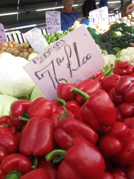 Farmer's market, Birmingham, UK
